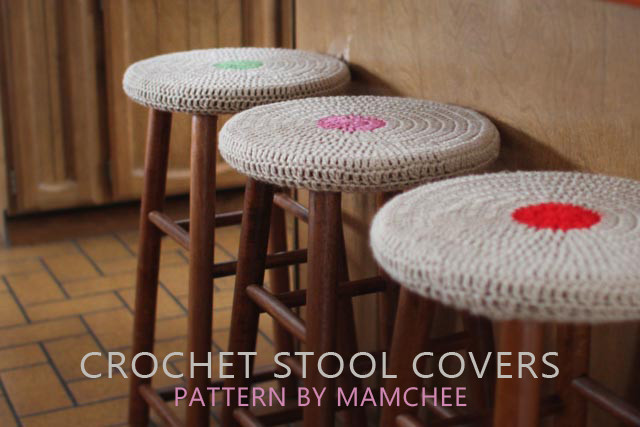 Easy Stool Covers – Free Crochet Pattern