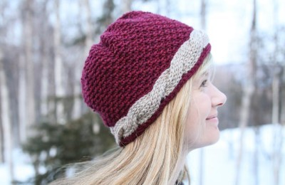 Kathy's Crochet Cable Hat